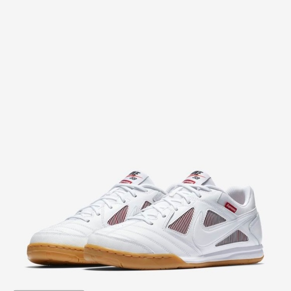 good quality best deals on outlet store sale Nike SB x Supreme Gato QS White Red AR9821-116 Boutique